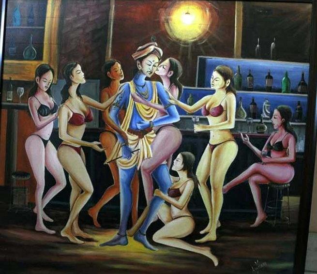 Krishna devi nude